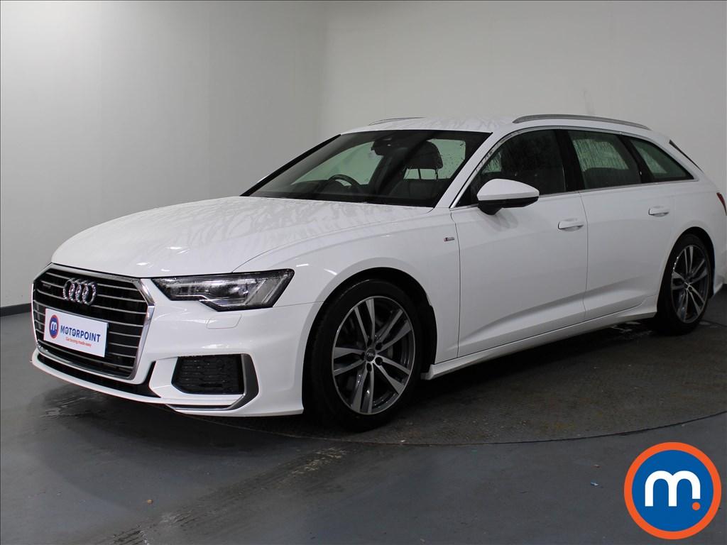 Audi A6 S Line - Stock Number 1078673 Passenger side front corner
