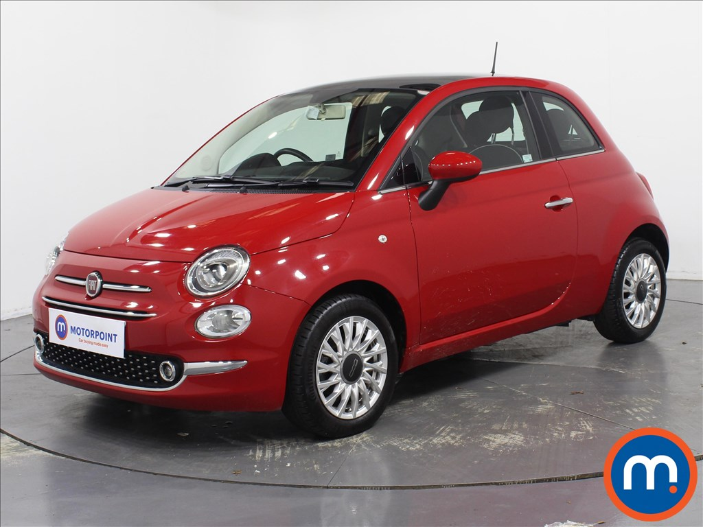 Fiat 500 Lounge - Stock Number 1077965 Passenger side front corner