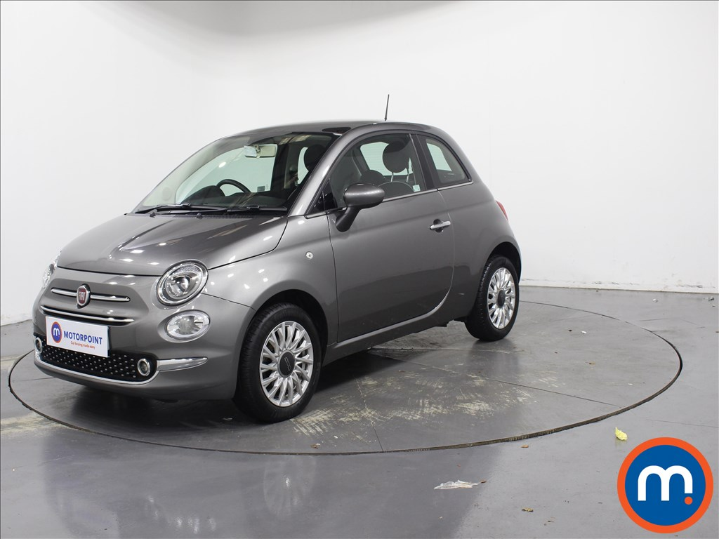 Fiat 500 Lounge - Stock Number 1079106 Passenger side front corner