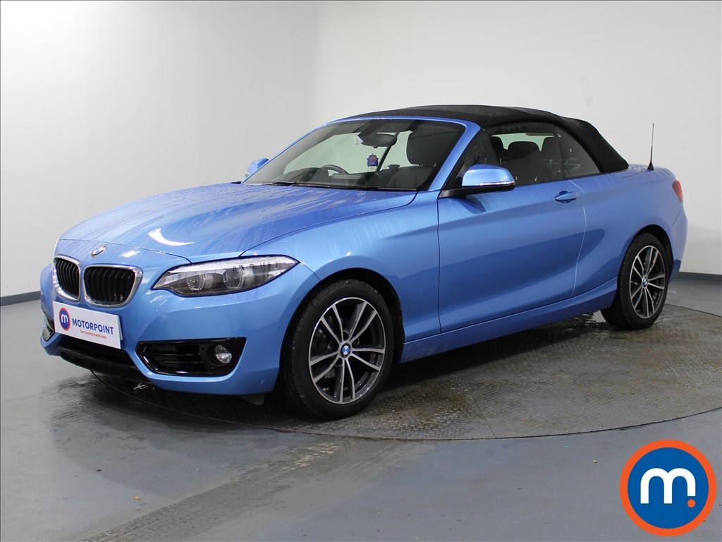 BMW 2 Series Sport - Stock Number 1077264 Passenger side front corner