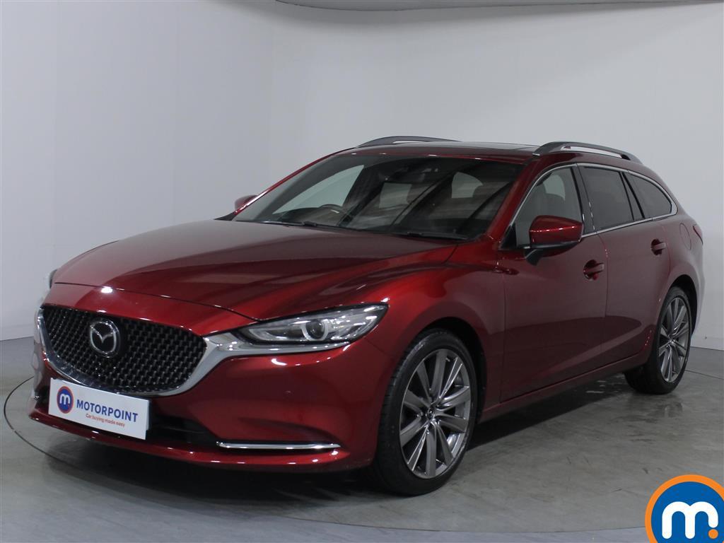 Mazda 6 GT Sport Nav-Plus - Stock Number 1076956 Passenger side front corner