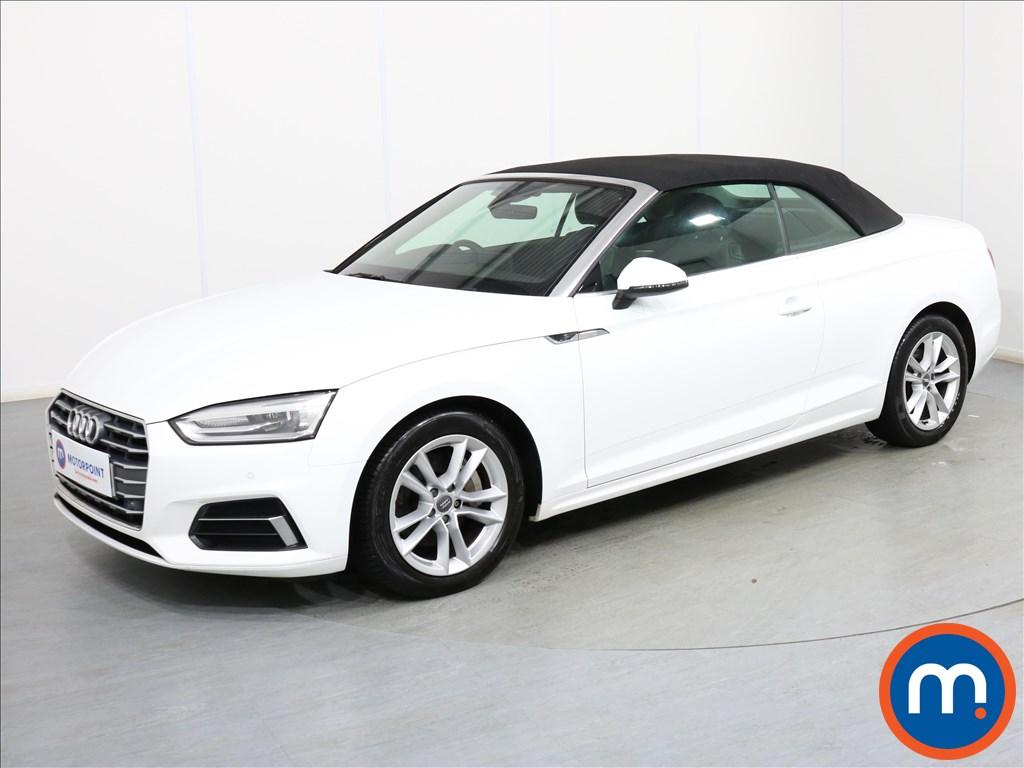 Audi A5 Sport - Stock Number 1081582 Passenger side front corner