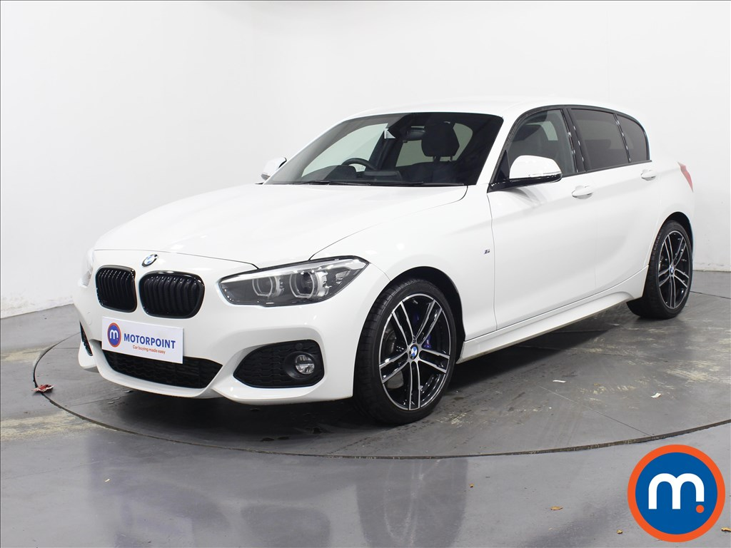 BMW 1 Series M Sport Shadow Edition - Stock Number 1081438 Passenger side front corner