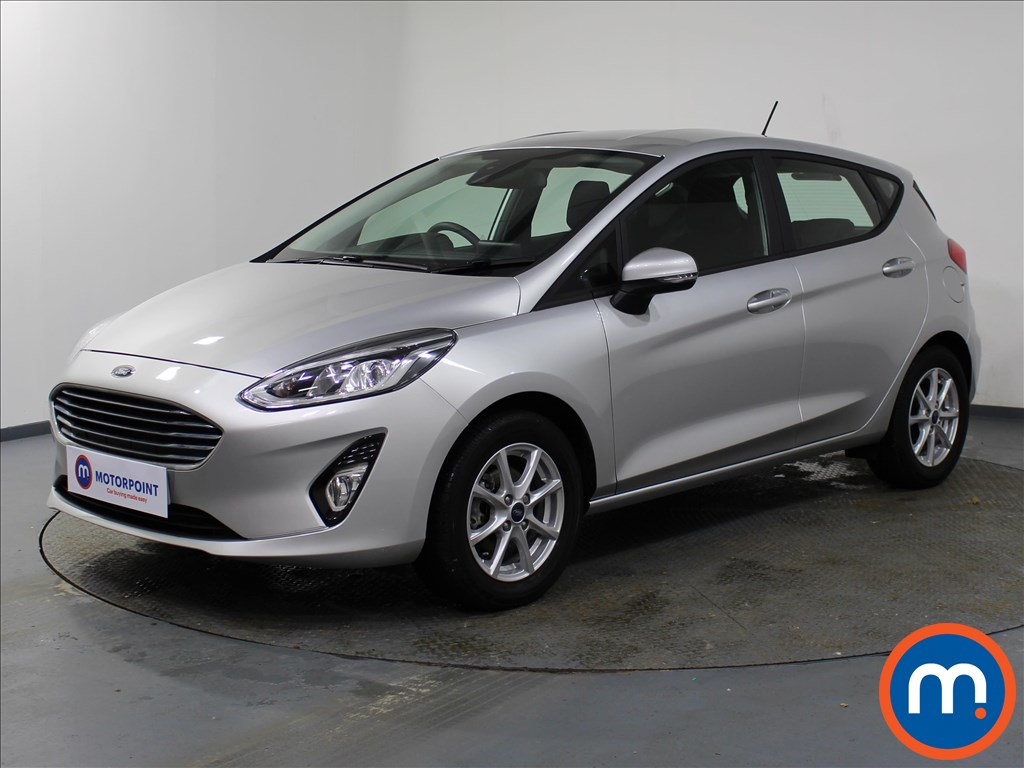 Ford Fiesta Zetec - Stock Number 1079589 Passenger side front corner