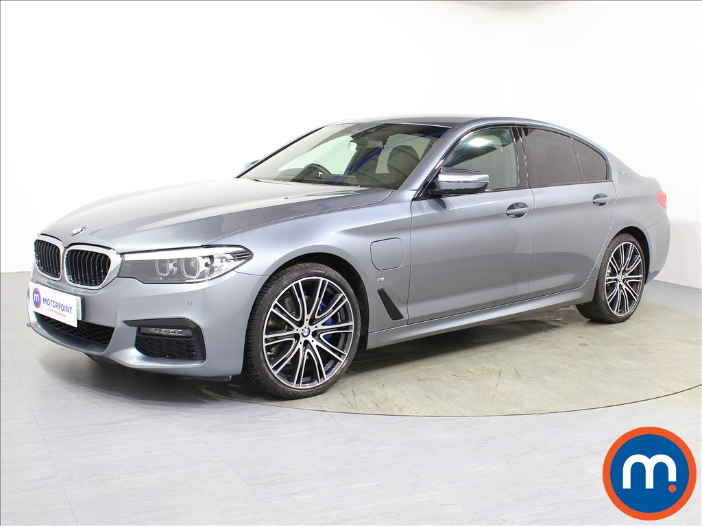 BMW 5 Series M Sport - Stock Number 1075759 Passenger side front corner