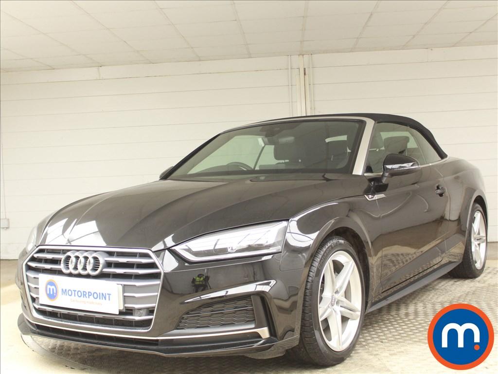 Audi A5 S Line - Stock Number 1078232 Passenger side front corner
