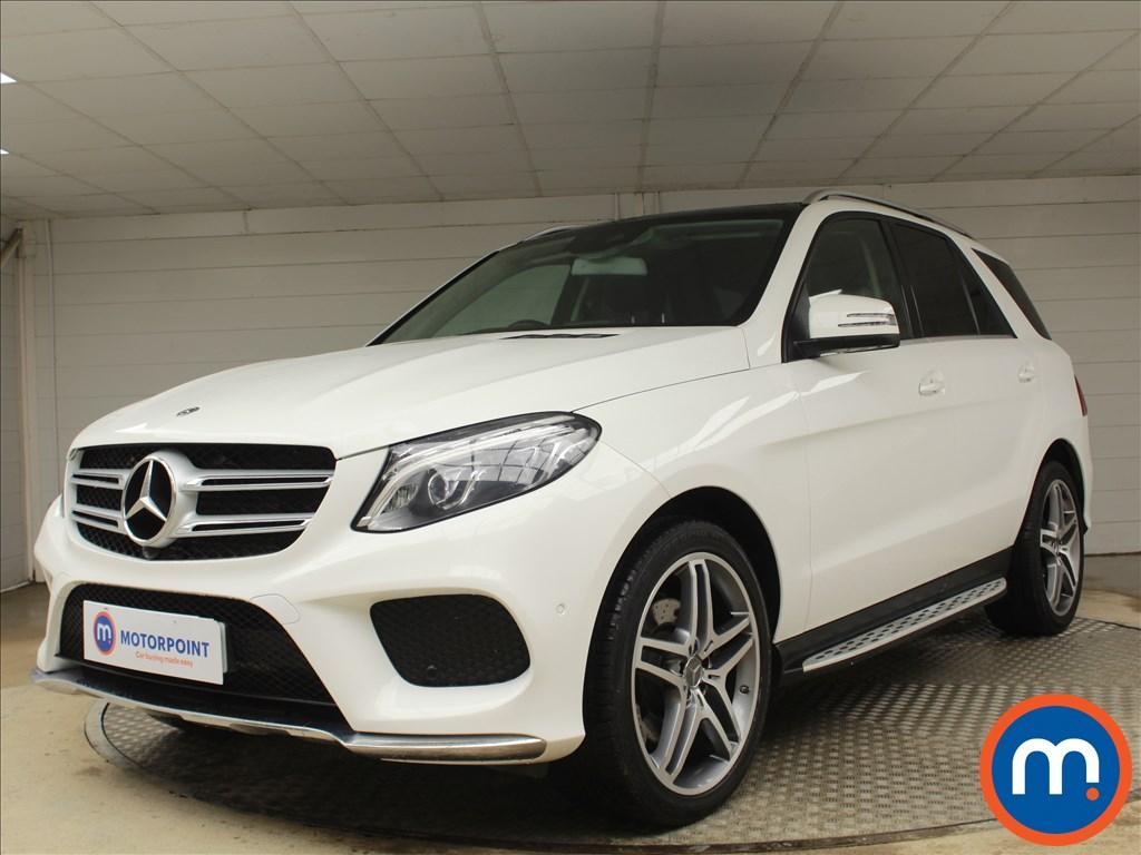 Mercedes-Benz GLE AMG Line - Stock Number 1078545 Passenger side front corner