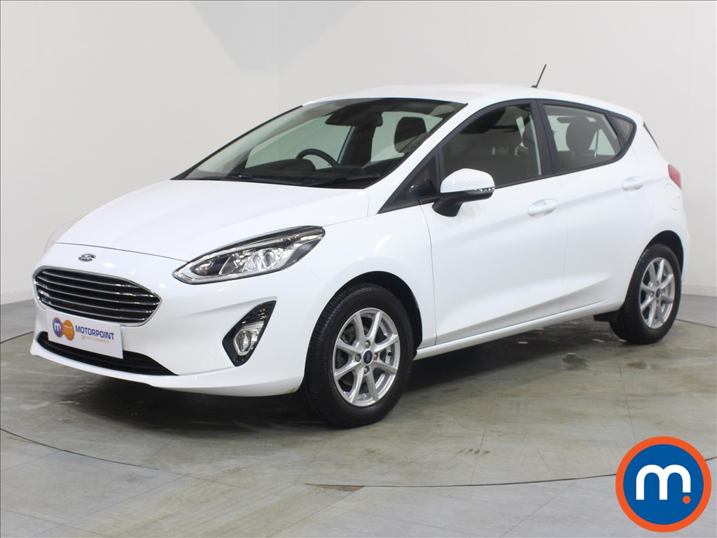 Ford Fiesta Zetec - Stock Number 1079600 Passenger side front corner
