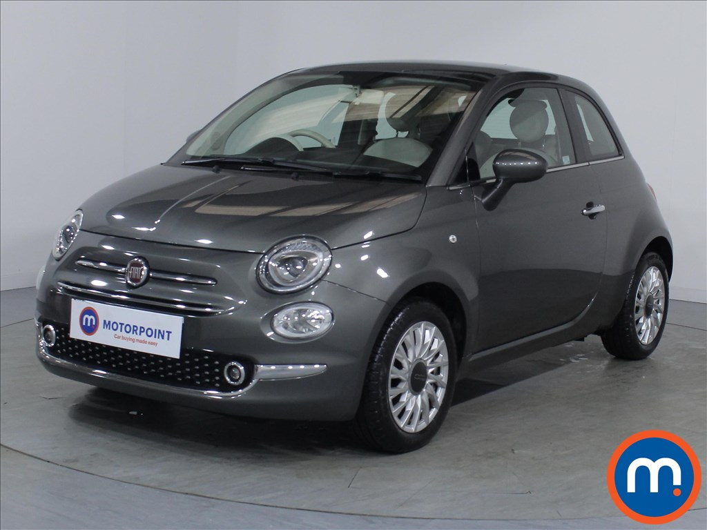 Fiat 500 Lounge - Stock Number 1079356 Passenger side front corner