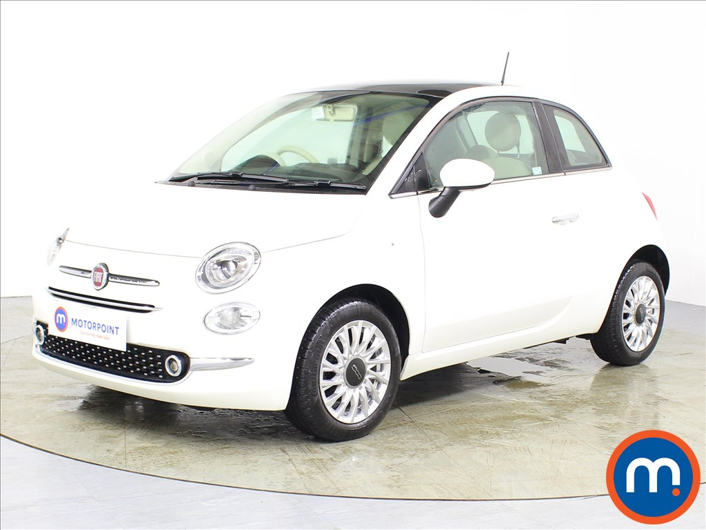 Fiat 500 Lounge - Stock Number 1079288 Passenger side front corner