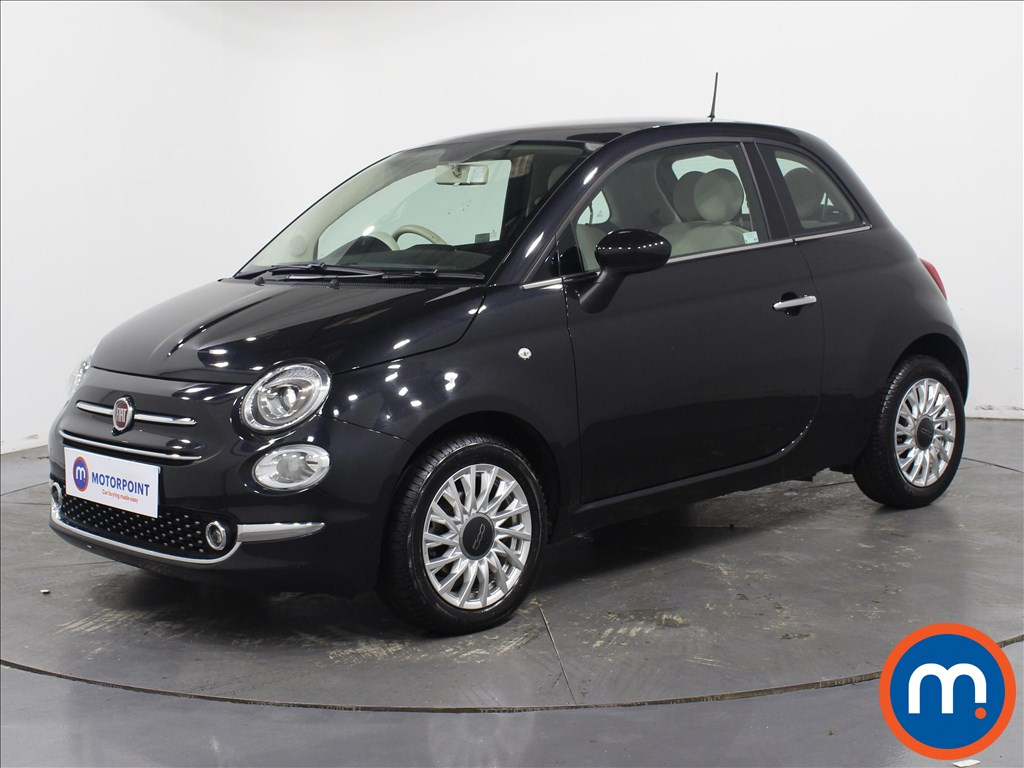 Fiat 500 Lounge - Stock Number 1079115 Passenger side front corner