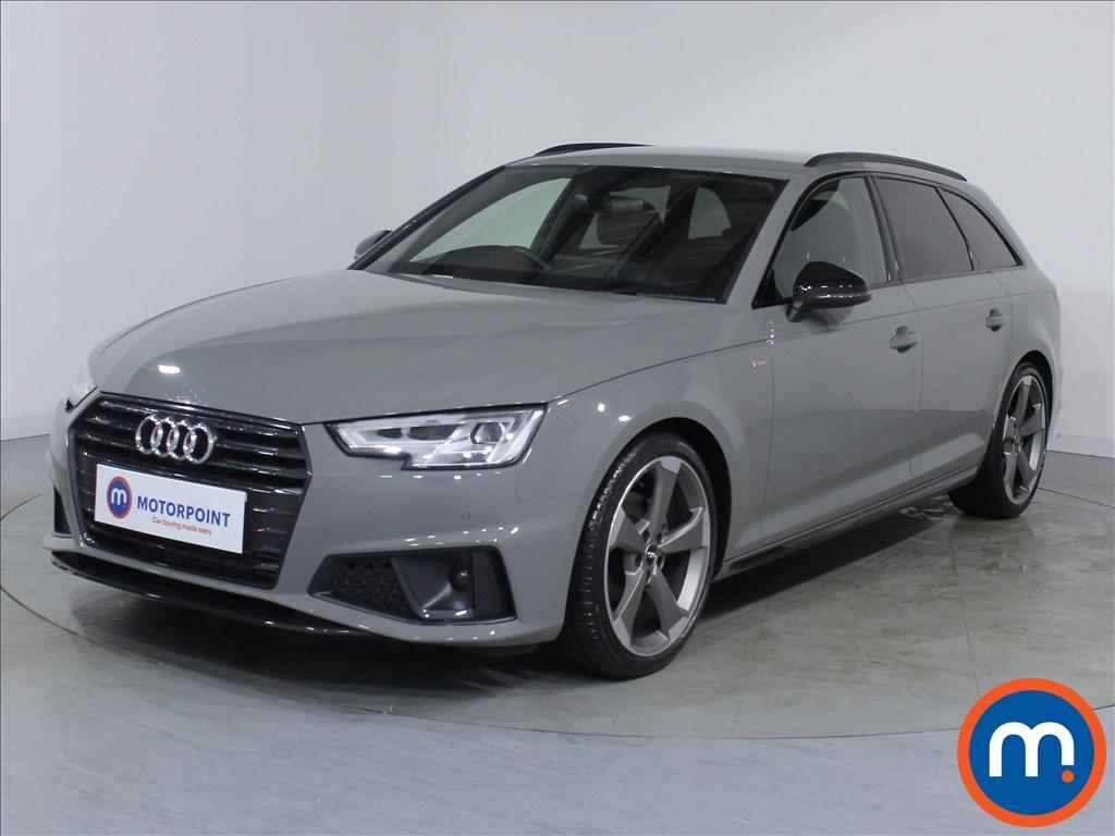 Audi A4 Black Edition - Stock Number 1078170 Passenger side front corner