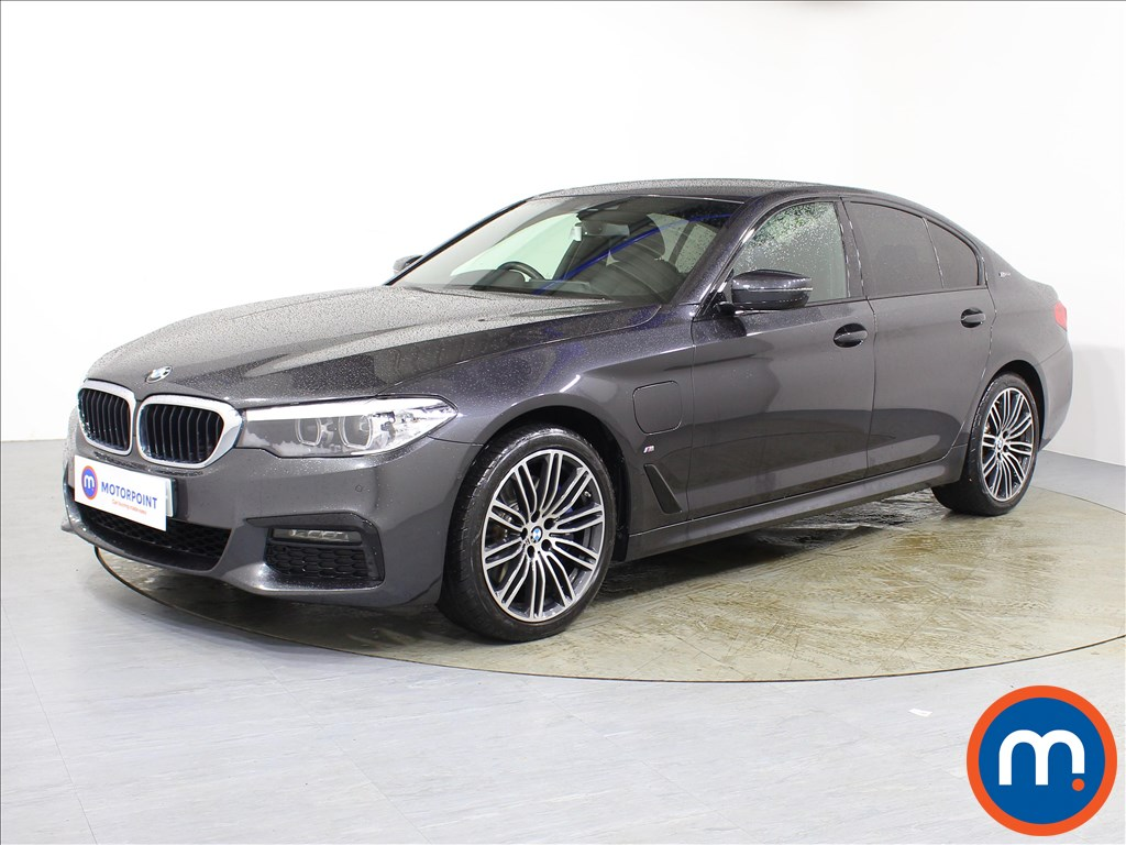 BMW 5 Series M Sport - Stock Number 1081542 Passenger side front corner