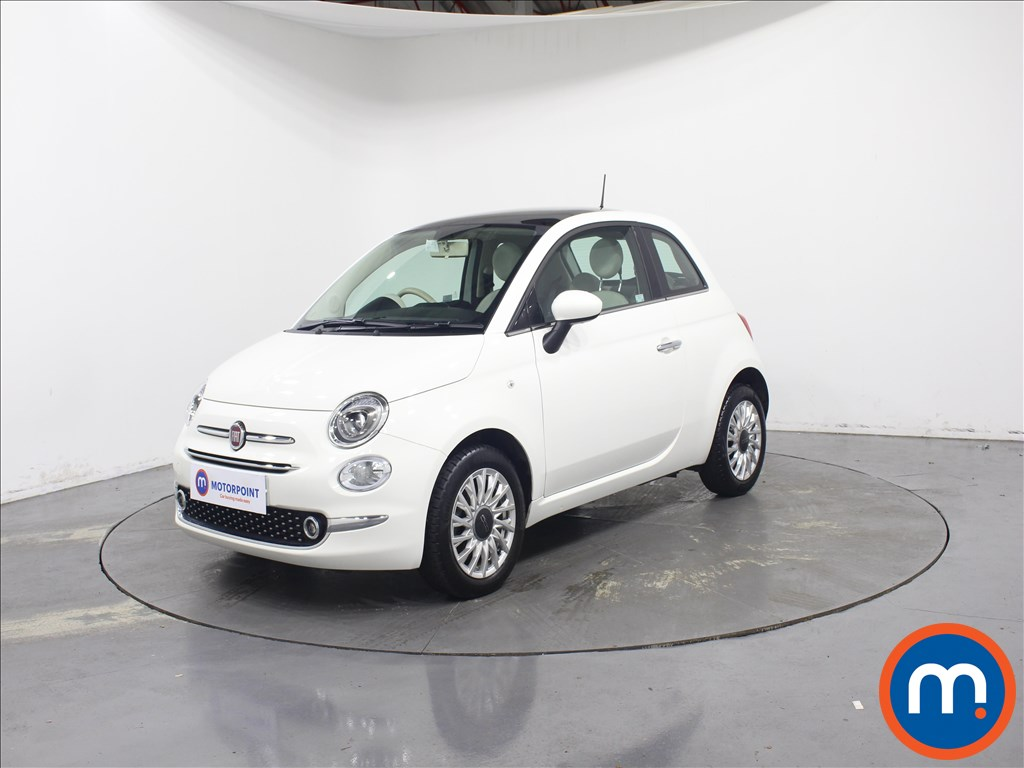 Fiat 500 Lounge - Stock Number 1081447 Passenger side front corner