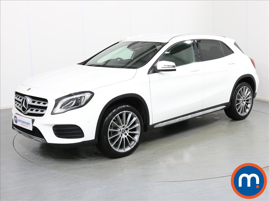 Mercedes-Benz Gla Class AMG Line - Stock Number 1081189 Passenger side front corner