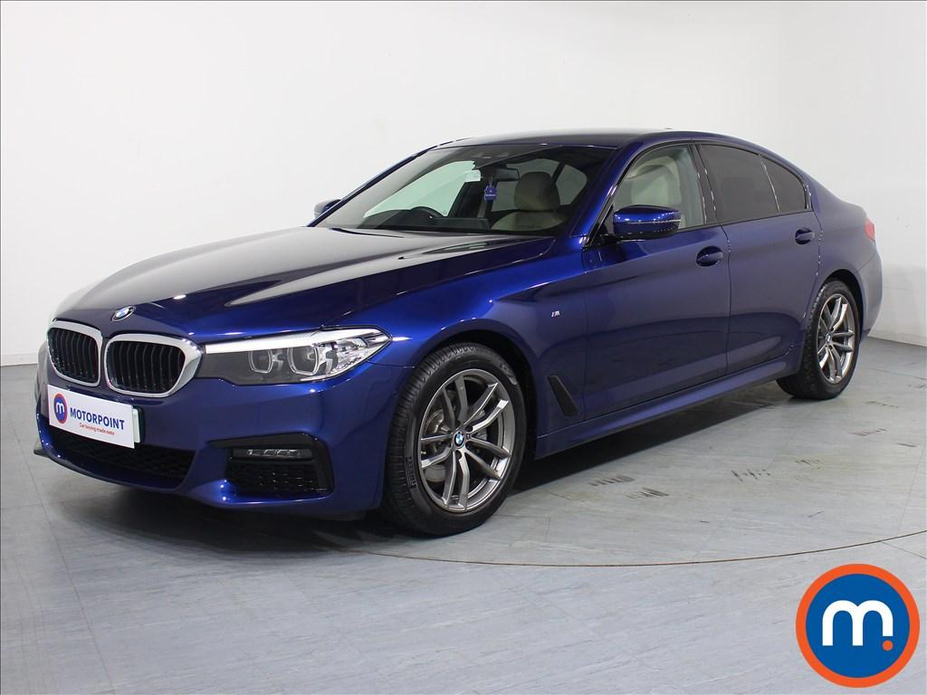 BMW 5 Series M Sport - Stock Number 1077707 Passenger side front corner