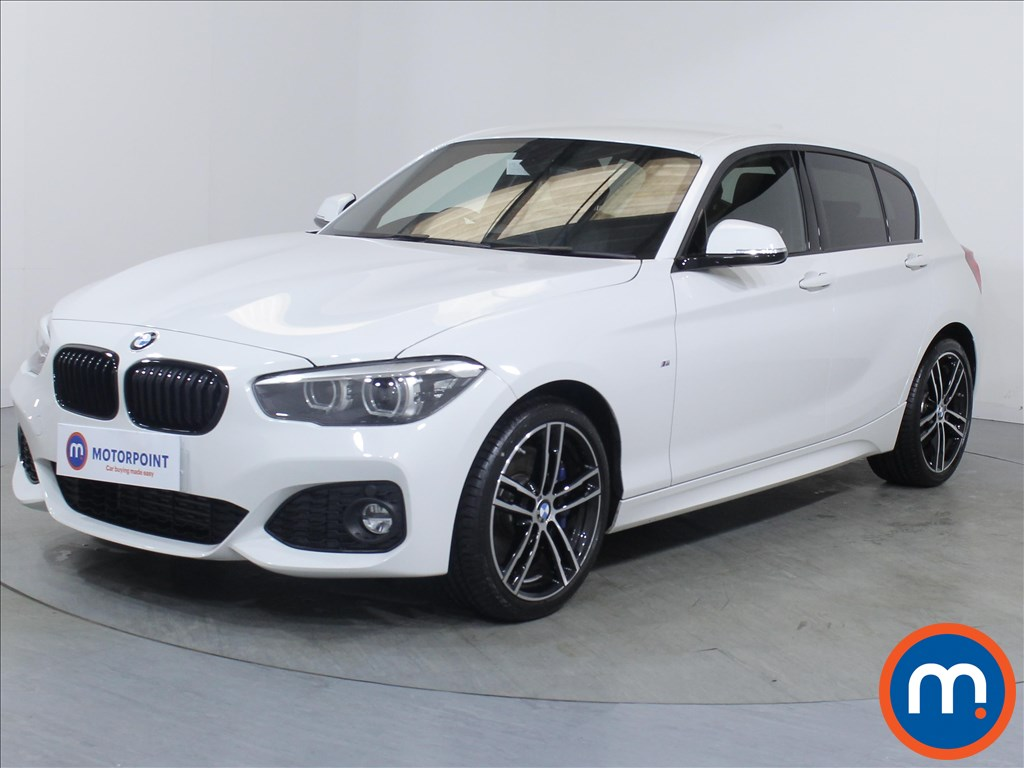BMW 1 Series M Sport Shadow Edition - Stock Number 1081353 Passenger side front corner