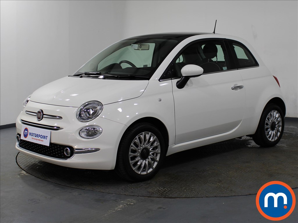 Fiat 500 Lounge - Stock Number 1079172 Passenger side front corner