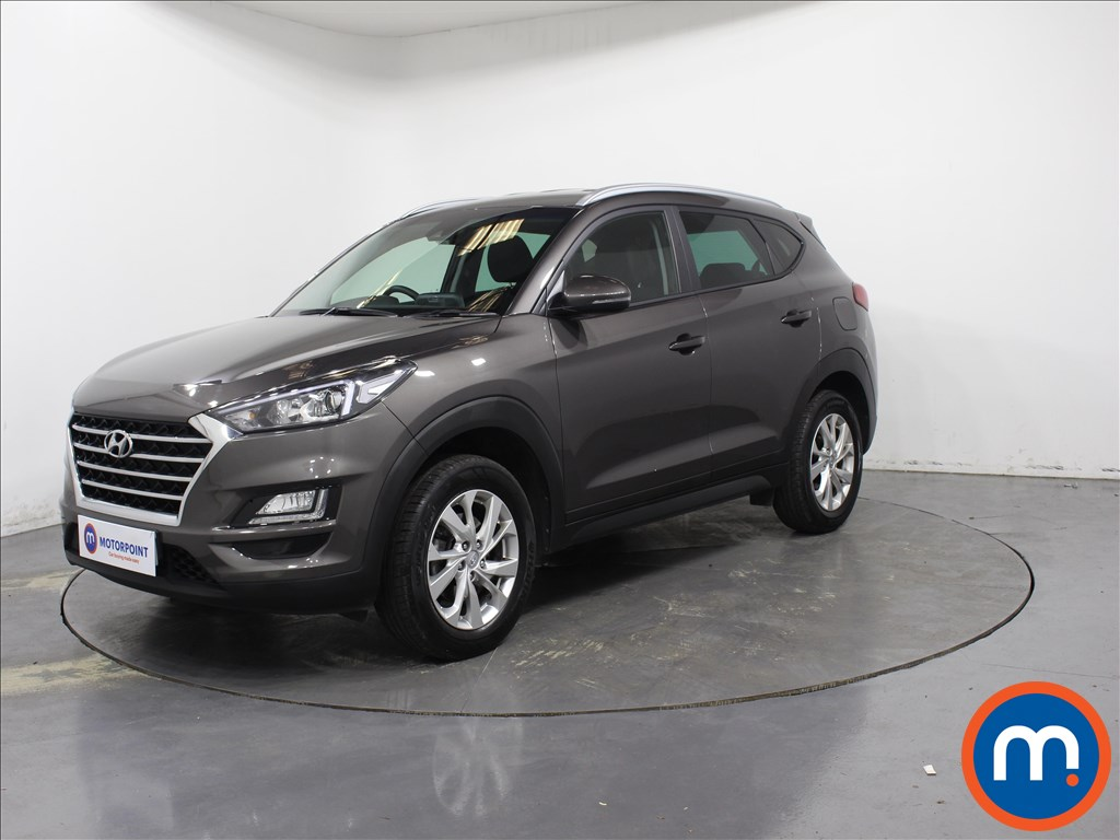 Hyundai Tucson SE Nav - Stock Number 1081224 Passenger side front corner