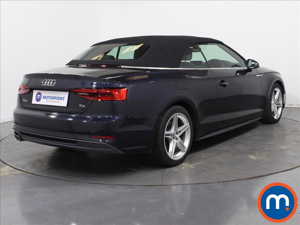 Audi A5 S Line - Stock Number 1081584 Passenger side front corner