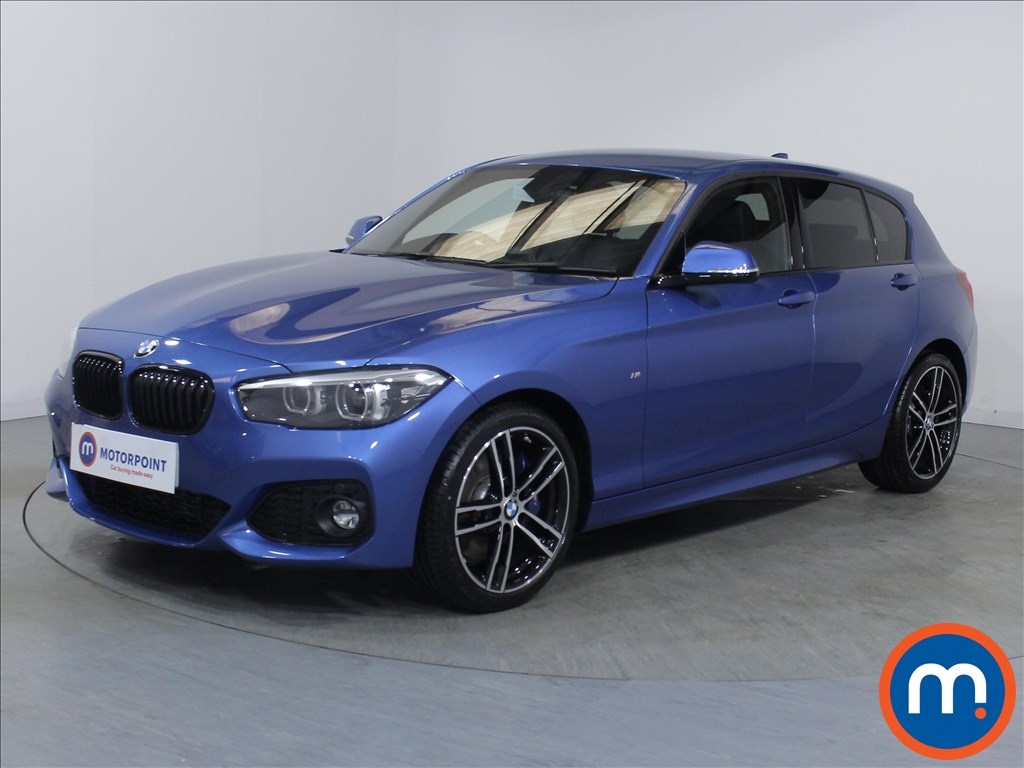 BMW 1 Series M Sport Shadow Edition - Stock Number 1081460 Passenger side front corner