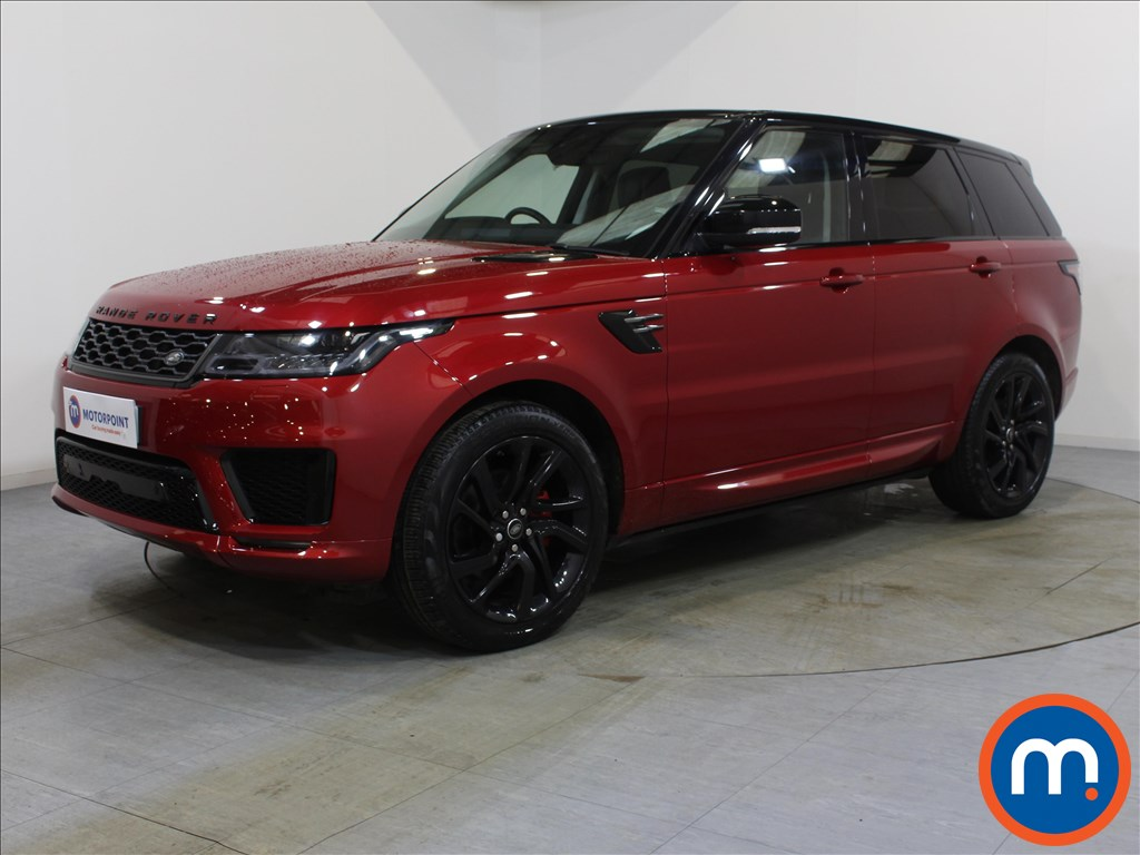 Land Rover Range Rover Sport HSE Dynamic - Stock Number 1078551 Passenger side front corner