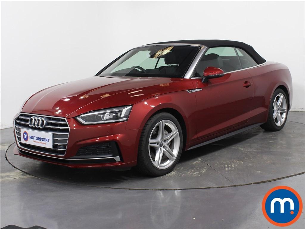 Audi A5 S Line - Stock Number 1078231 Passenger side front corner