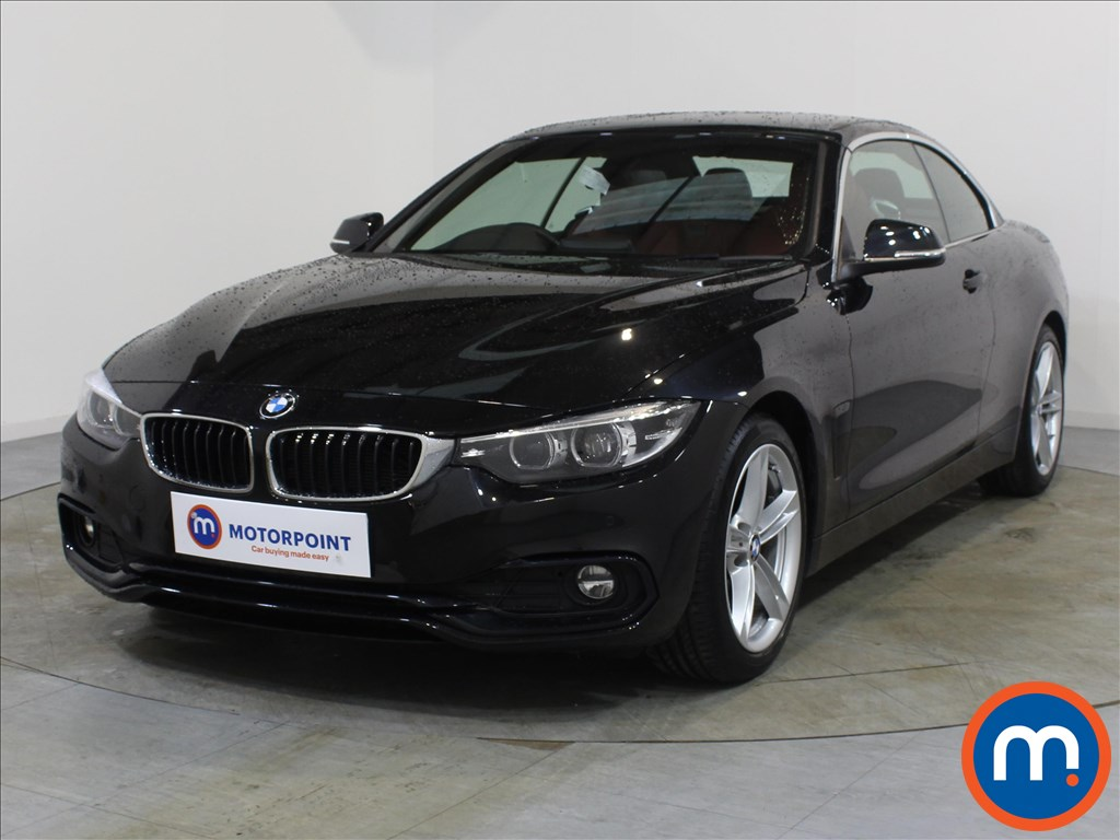 BMW 4 Series Sport - Stock Number 1078516 Passenger side front corner