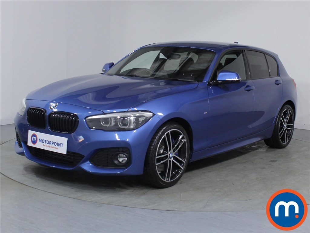 BMW 1 Series M Sport Shadow Edition - Stock Number 1081302 Passenger side front corner