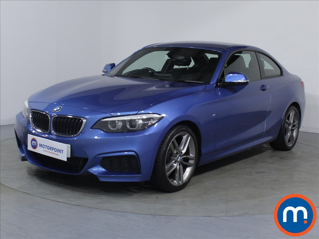 BMW 2 Series M Sport - Stock Number 1082213 Passenger side front corner