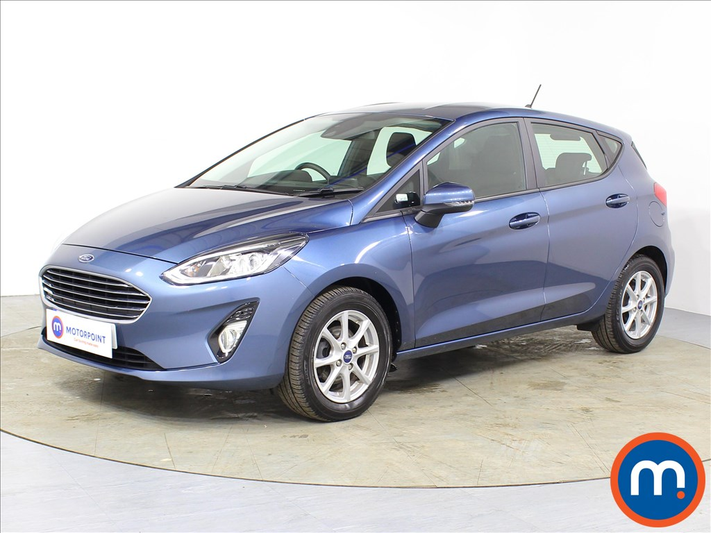 Ford Fiesta Zetec - Stock Number 1080595 Passenger side front corner