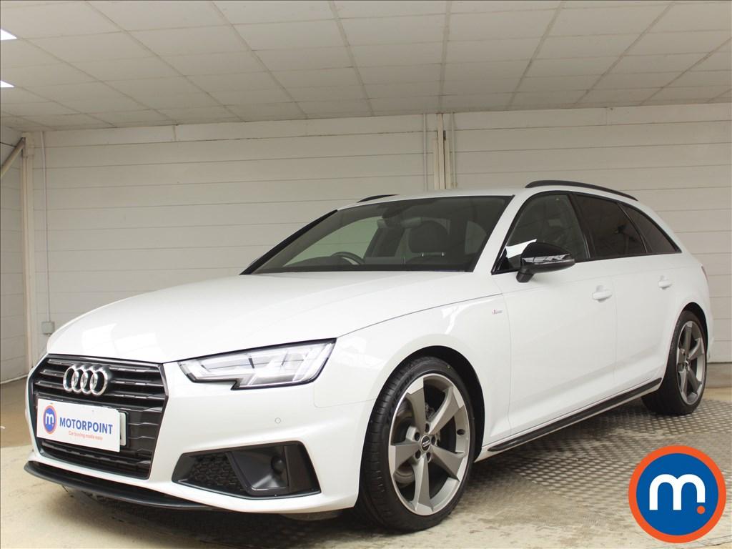 Audi A4 Black Edition - Stock Number 1078178 Passenger side front corner
