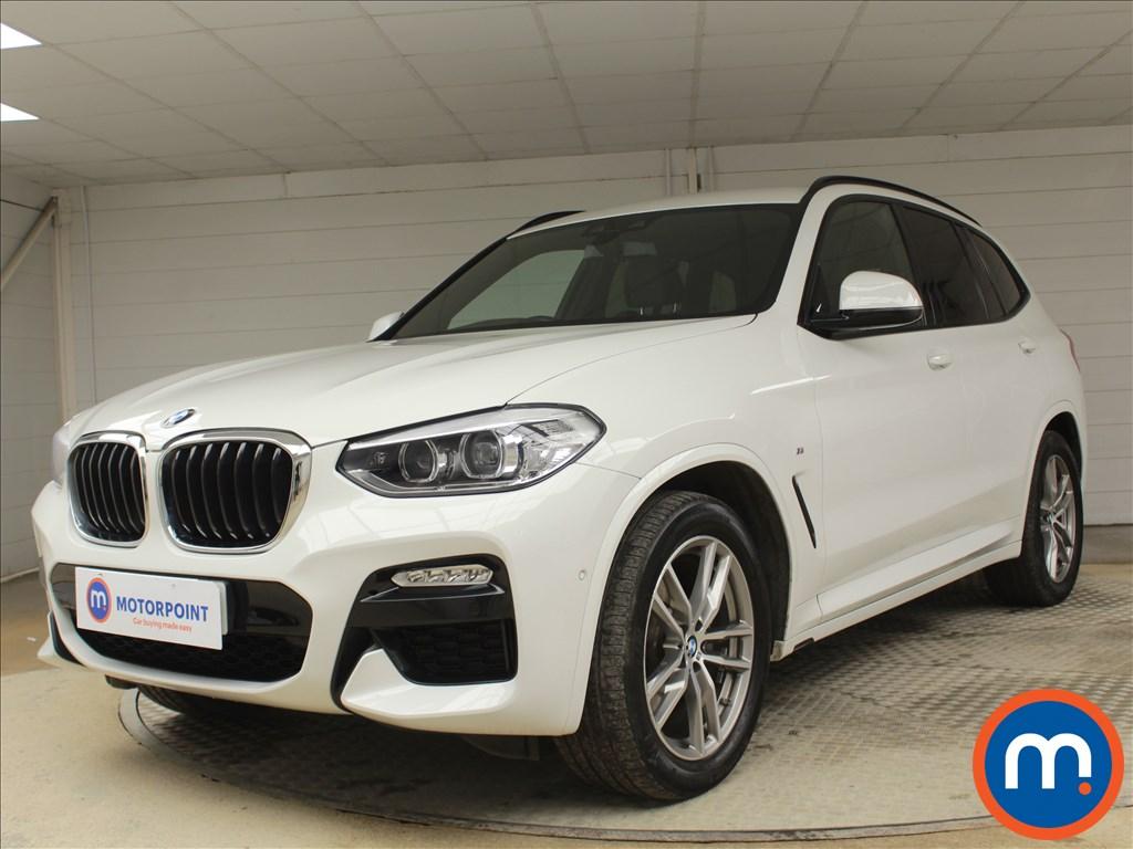 BMW X3 M Sport - Stock Number 1079337 Passenger side front corner