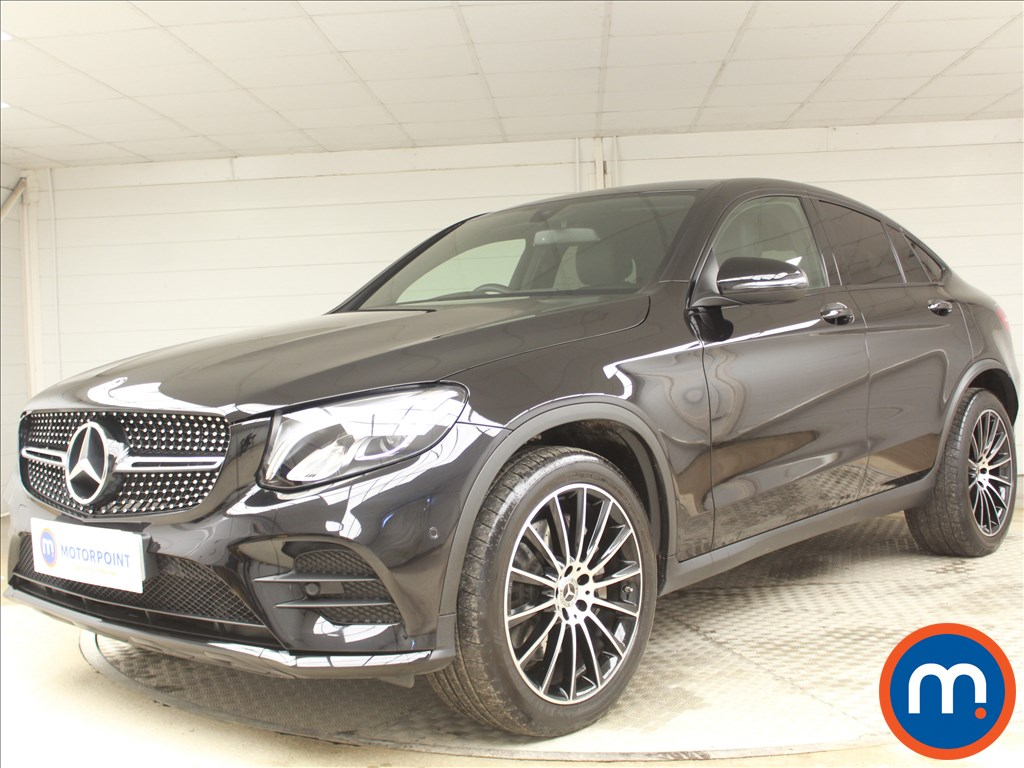 Mercedes-Benz Glc Coupe AMG Line - Stock Number 1078853 Passenger side front corner