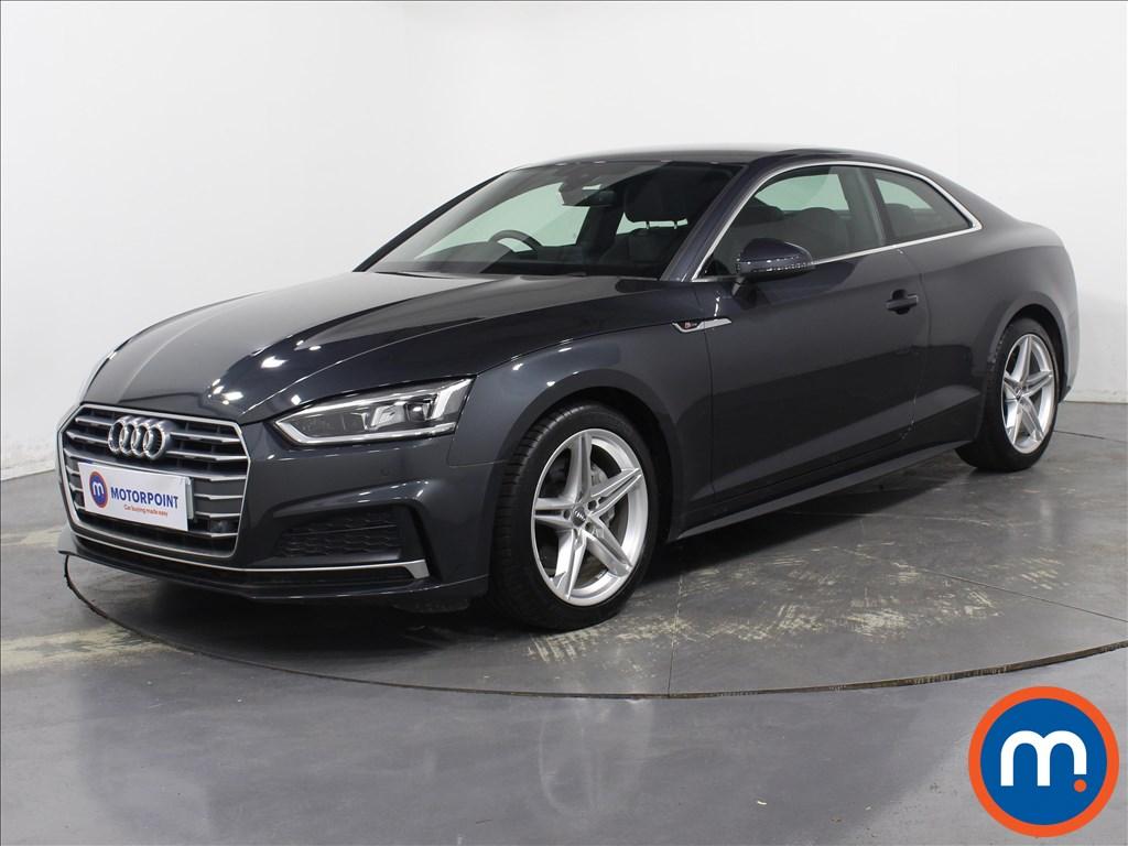 Audi A5 S Line - Stock Number 1078237 Passenger side front corner