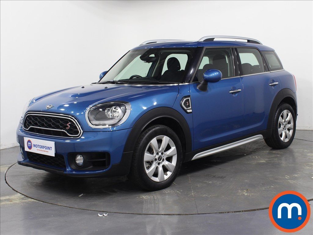 Mini Countryman Cooper S - Stock Number 1082228 Passenger side front corner