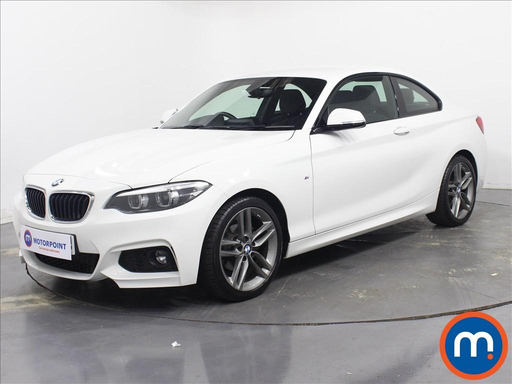 BMW 2 Series M Sport - Stock Number 1082278 Passenger side front corner
