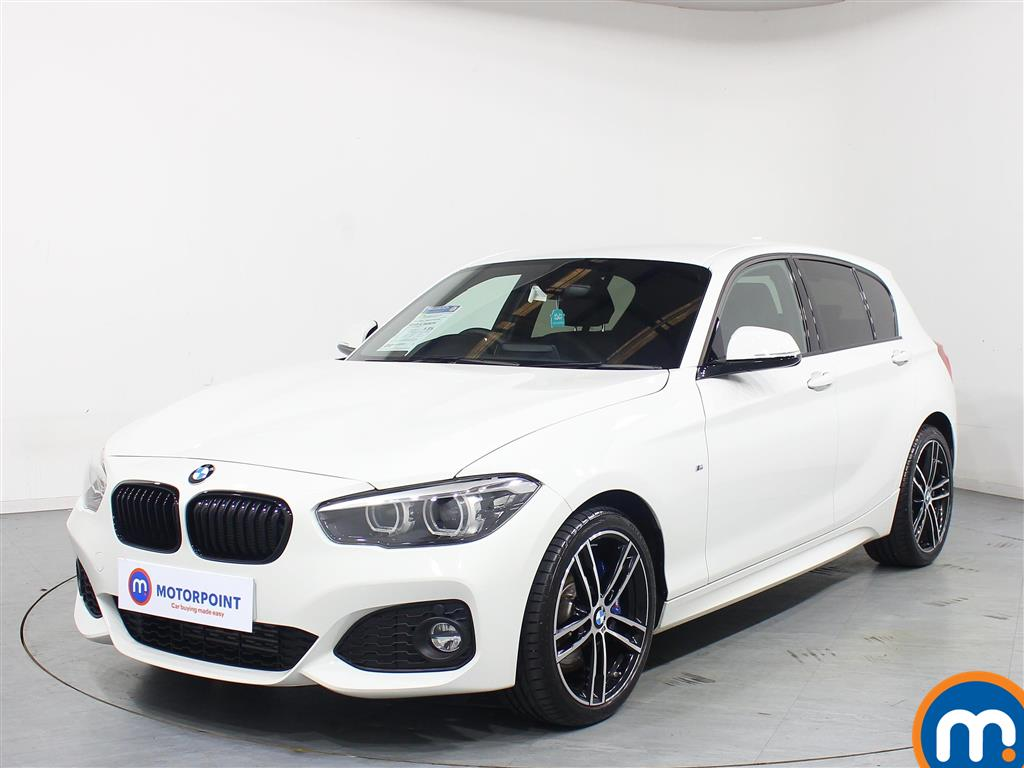 BMW 1 Series M Sport Shadow Edition - Stock Number 1081350 Passenger side front corner