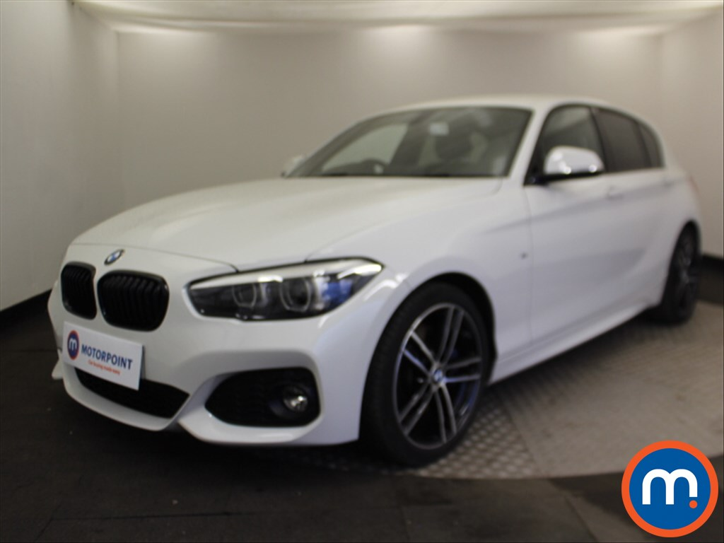 BMW 1 Series M Sport Shadow Edition - Stock Number 1081393 Passenger side front corner