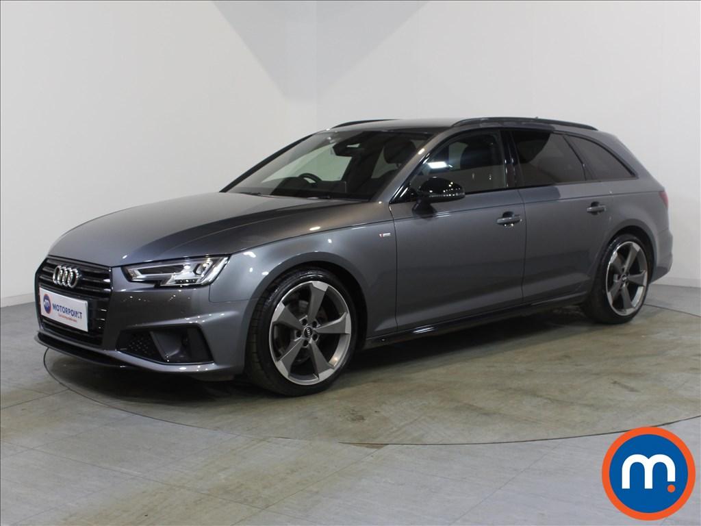Audi A4 Black Edition - Stock Number 1078174 Passenger side front corner