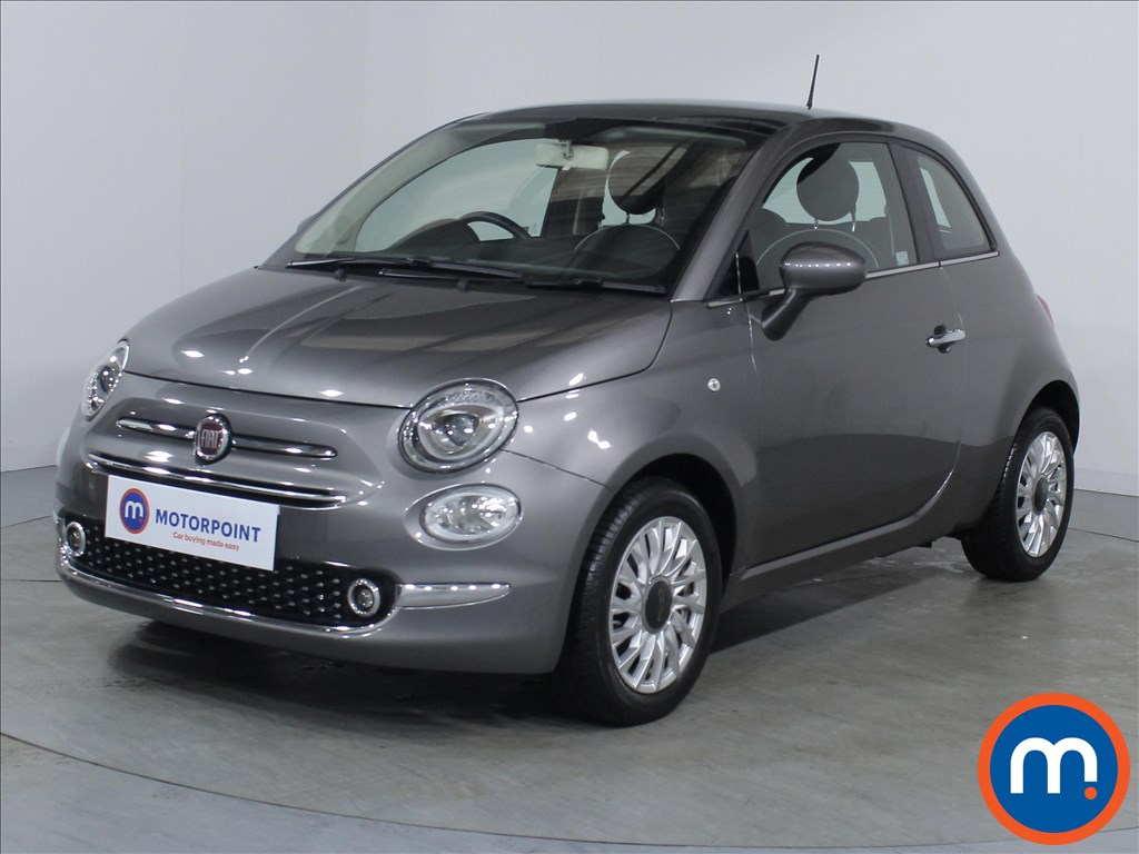 Fiat 500 Lounge - Stock Number 1079175 Passenger side front corner