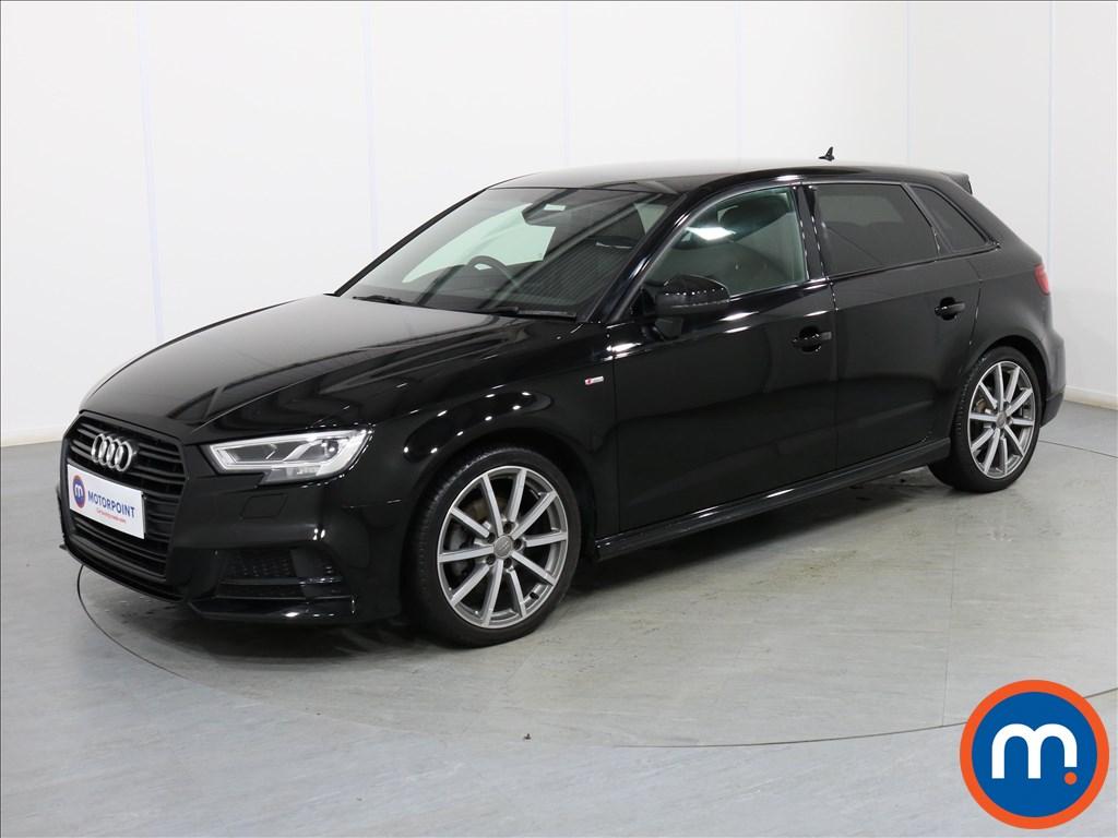 Audi A3 Black Edition - Stock Number 1079674 Passenger side front corner