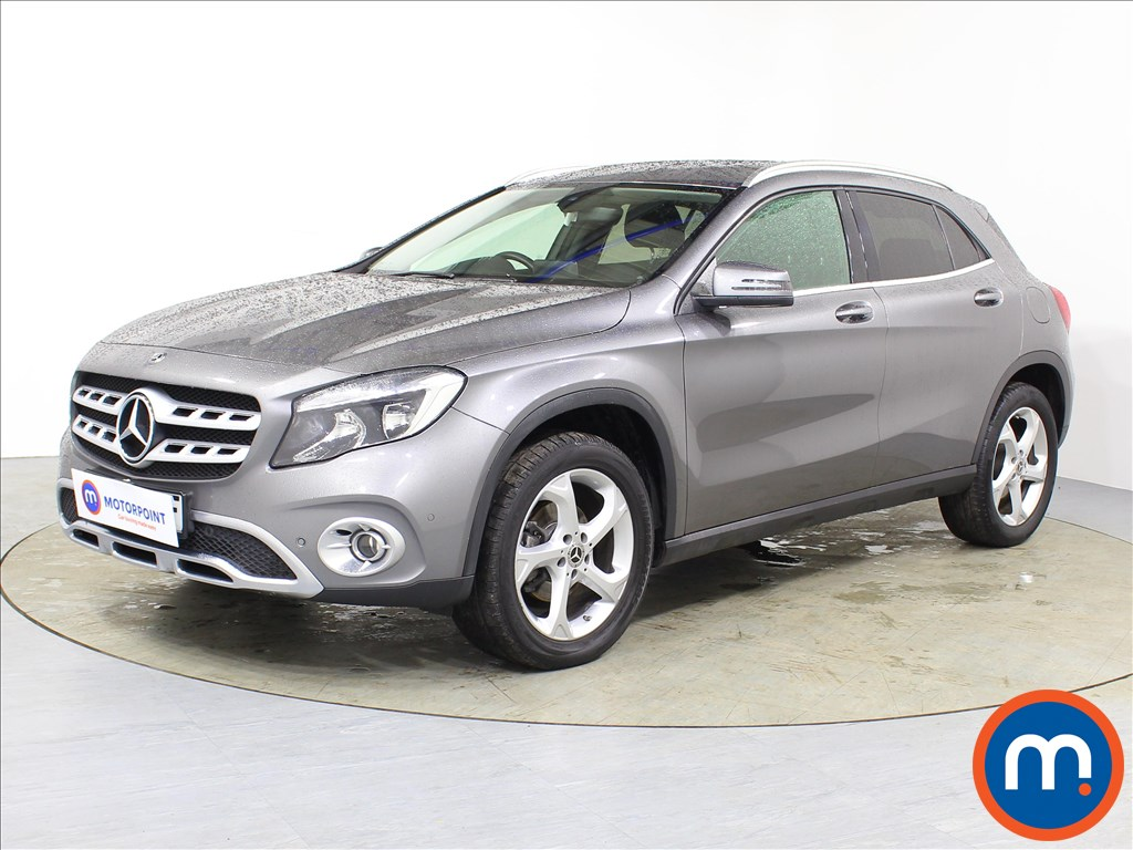 Mercedes-Benz Gla Class Sport - Stock Number 1082860 Passenger side front corner
