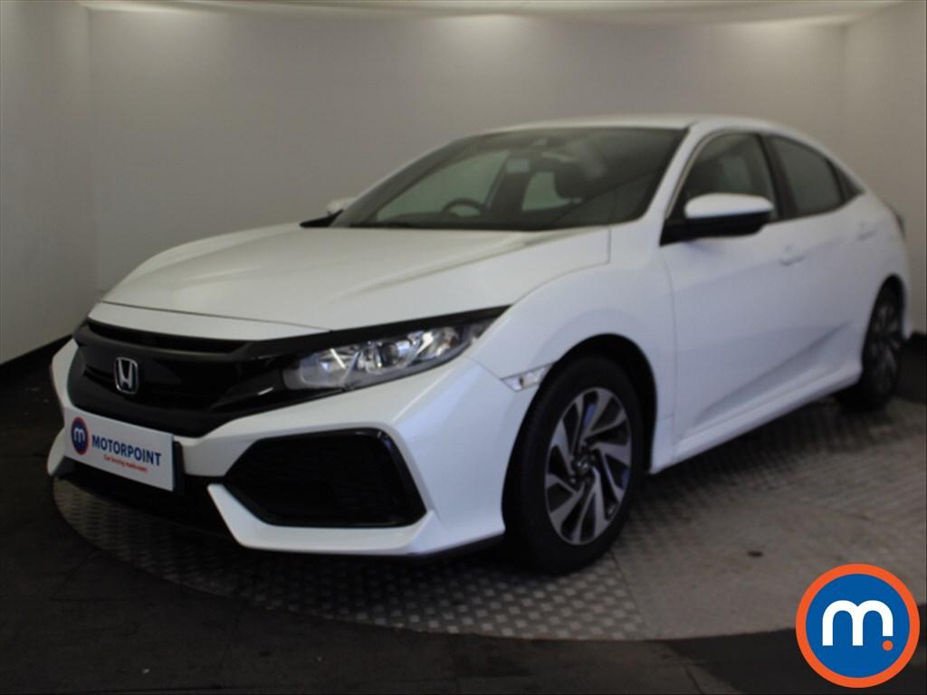Honda Civic SE - Stock Number 1081077 Passenger side front corner
