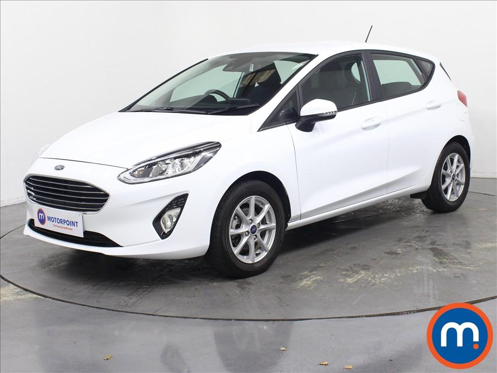 Ford Fiesta Zetec - Stock Number 1079571 Passenger side front corner