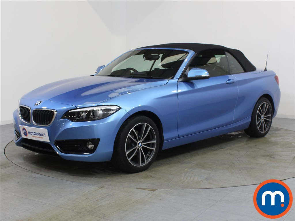 BMW 2 Series Sport - Stock Number 1080184 Passenger side front corner