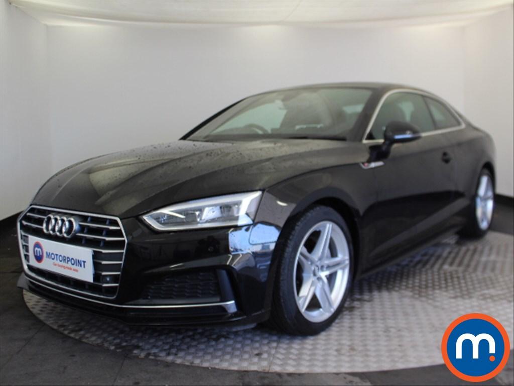 Audi A5 S Line - Stock Number 1078242 Passenger side front corner