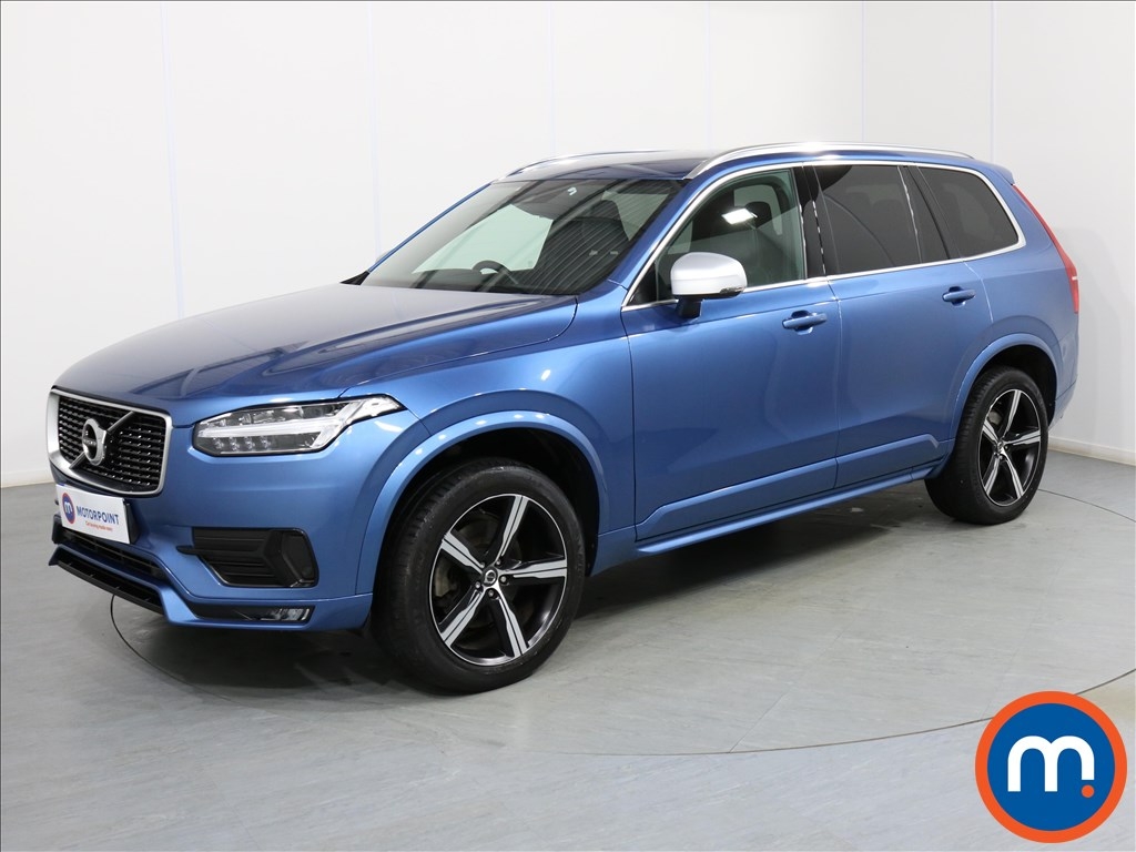 Volvo Xc90 R DESIGN - Stock Number 1081950 Passenger side front corner
