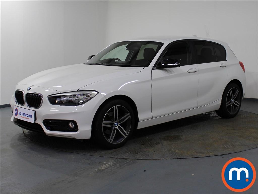BMW 1 Series Sport - Stock Number 1082486 Passenger side front corner