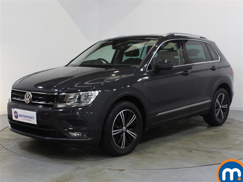 Volkswagen Tiguan SE Nav - Stock Number 1081627 Passenger side front corner